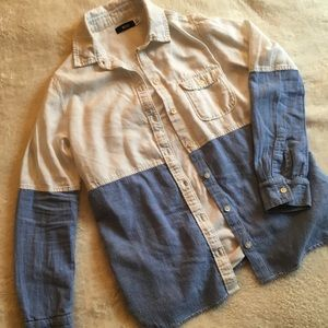Urban Outfitters Linen Button Down